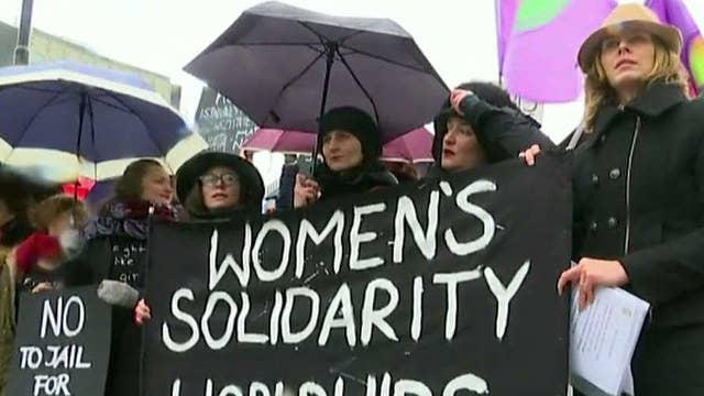 Women make their voices heard around the world
