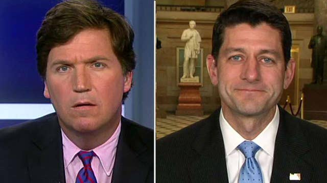 Tucker to Ryan: Why's Congress working only 8 days in April?