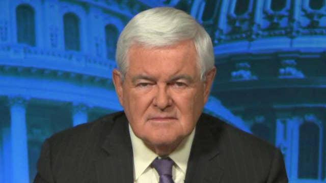 Gingrich talks 'deep state' bureaucrats' attacks on Trump