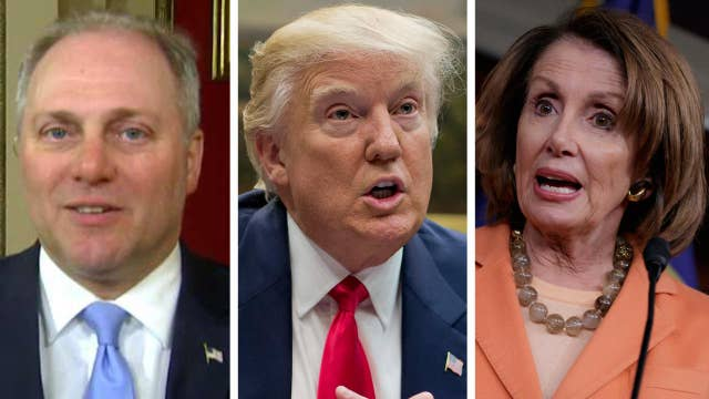 Scalise on health care: You're either with Pelosi or Trump