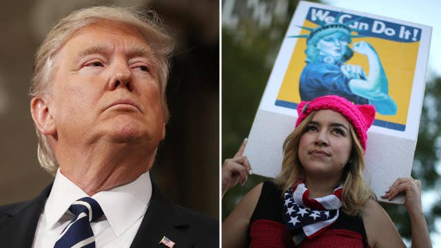 Halftime Report: Trump and International Women's Day