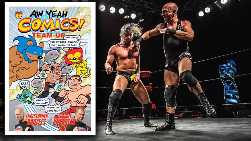 Beyond the Ring with Christopher Daniels: As Ring of Honor celebrates its 15th anniversary in Las Vegas, star wrestler Christopher Daniels shares his 'super' story in the ring and outside as a comic book writer