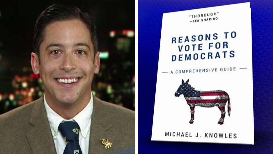 Blank 'Reasons to Vote for Democrats' book a top seller