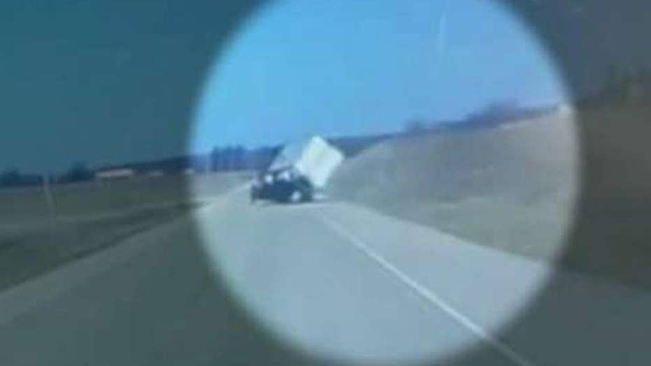 High winds topple trucks on Wisconsin highways