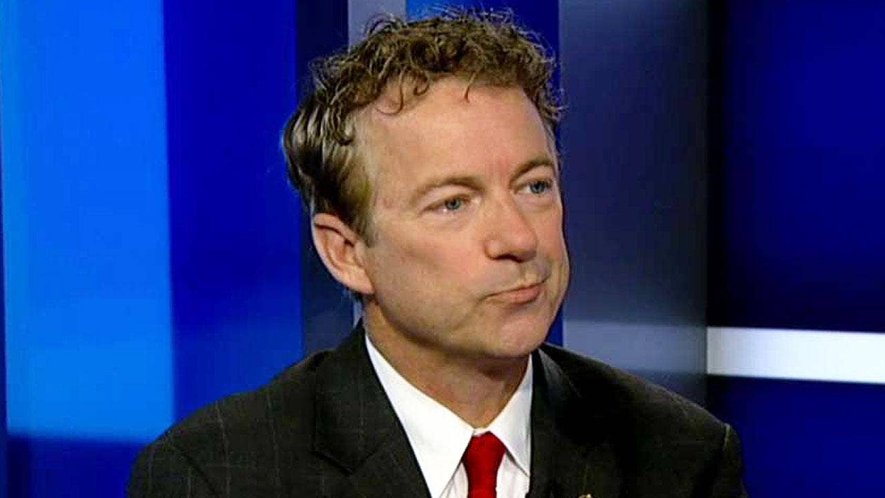 Rand Paul: House GOP's Obamacare replacement is 'dead on arrival' | Fox News