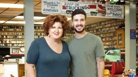 The former 'Jersey Shore' star Vinny Guadagnino leaves his partying ways behind to travel the country with his mother and reveals a few secrets about his former cast mates