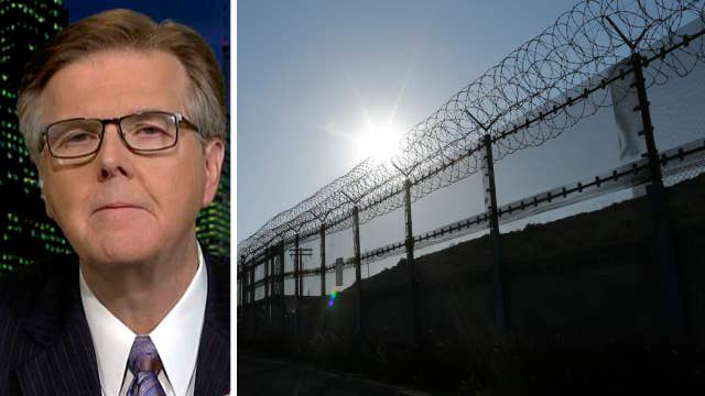 Lt. Gov. Dan Patrick talks drop in illegal border crossings