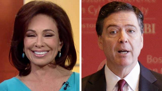 Judge Jeanine takes on Comey, Trump's wiretap claims