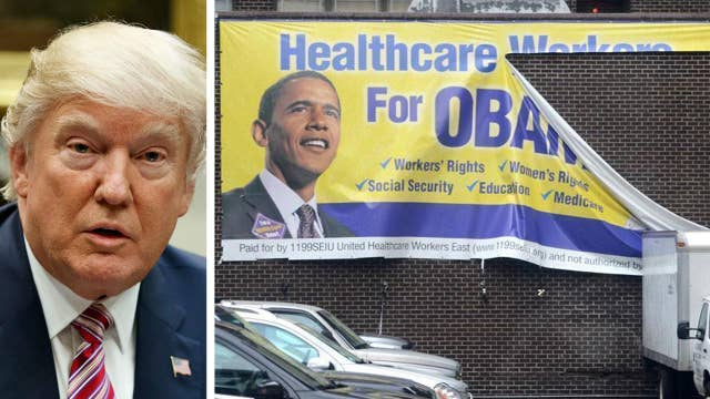Report: Trump considers letting ObamaCare fail, blaming Dems