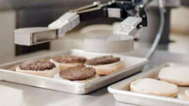 CaliBurger chain rolls out burger-flipping robot