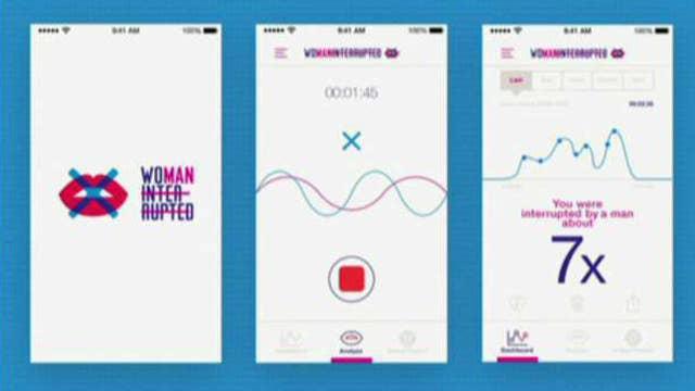New app determines how often men interrupt women