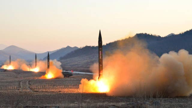 Trump WH weighs response to North Korean missile tests