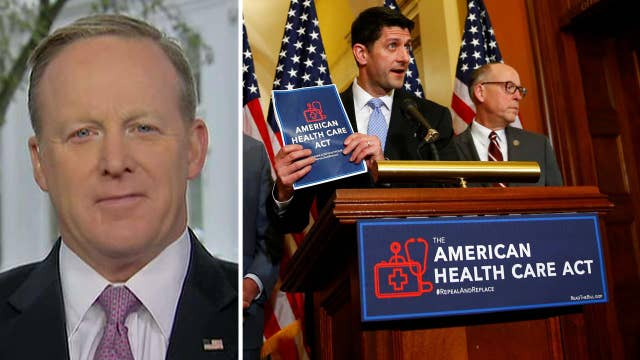 Spicer: White House confident in GOP health care plan