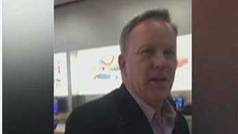 Spicer ambushed by woman in Apple Store