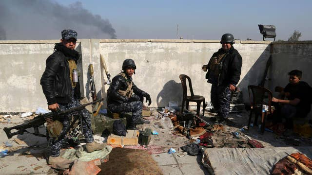 Progress made in the fight to retake Mosul from ISIS