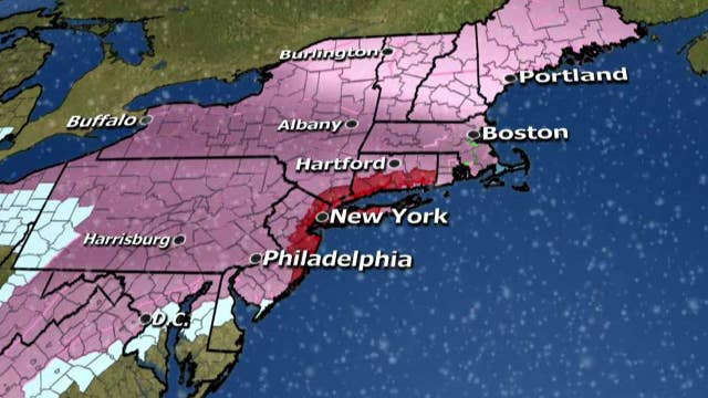 Northeastern US bracing for a blizzard