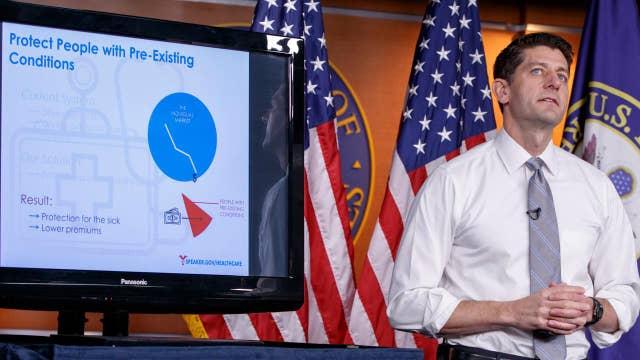 GOP health care bill faces tough road ahead