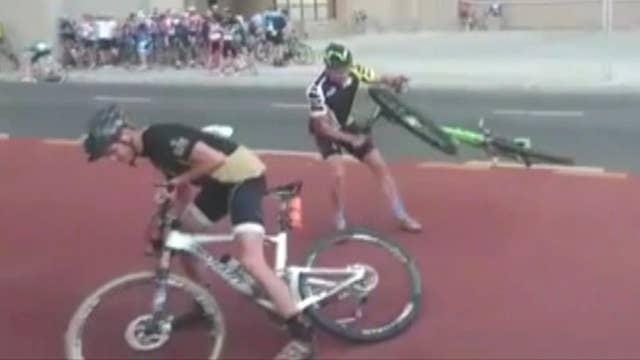 Wicked winds cancel bike race