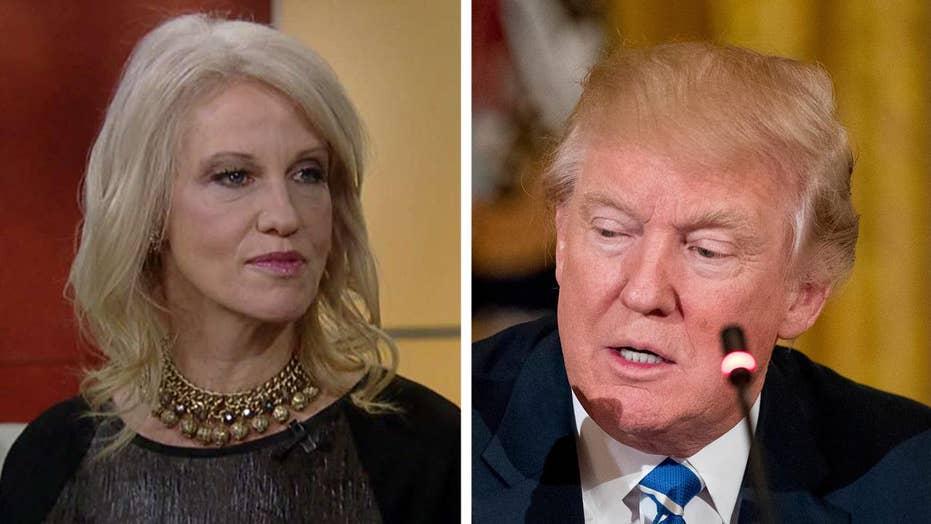 Kellyanne Conway: Trump very focused on investigating leaks