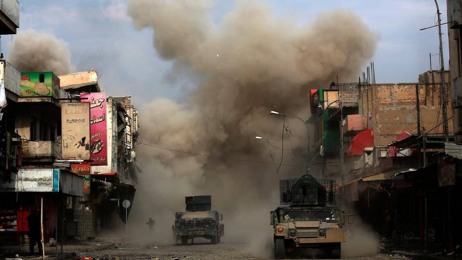 Iraqi forces pushing further into ISIS territory