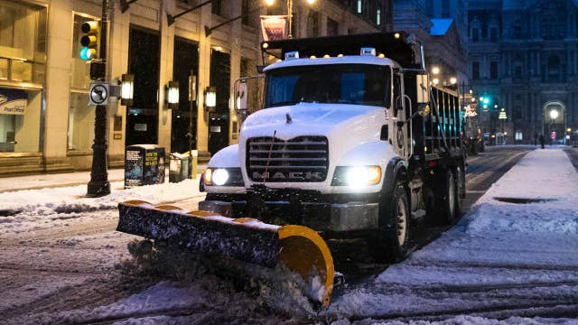 Winter weather wreaks havoc on roads in Northeast