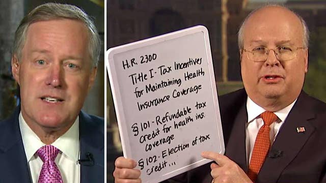 Rove responds to criticism from Rep. Meadows on health care
