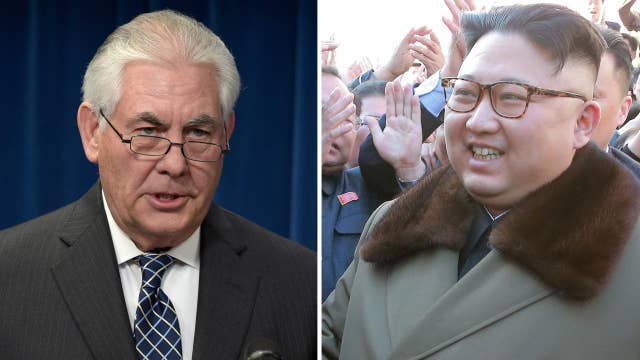 Tillerson looks for ways to deal with North Korea's threats