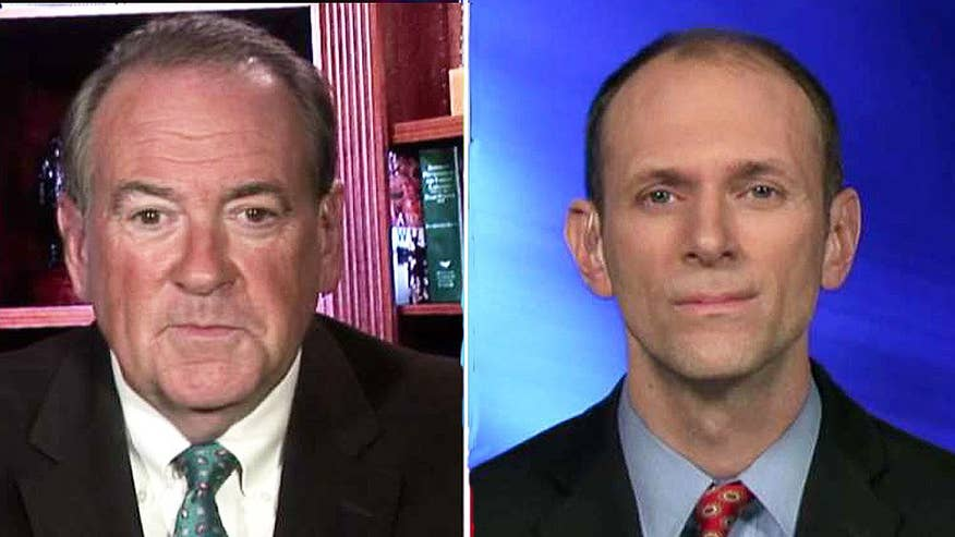 Mike Huckabee and Austan Goolsbee debate on 'The First 100 Days'