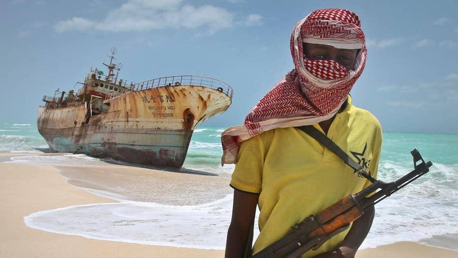 Pirates reportedly hijack oil tanker off coast of Somalia