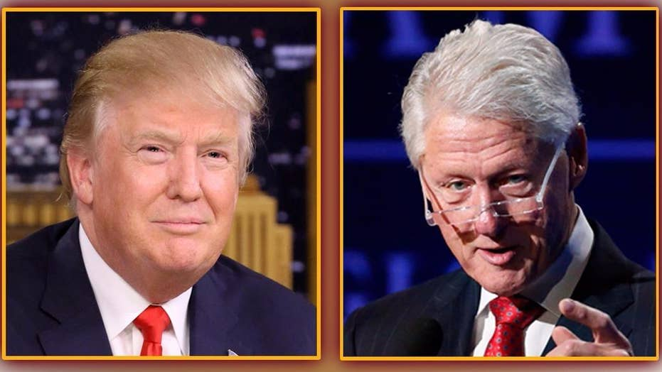 Trump hammered for budget cuts, but Clinton did the same