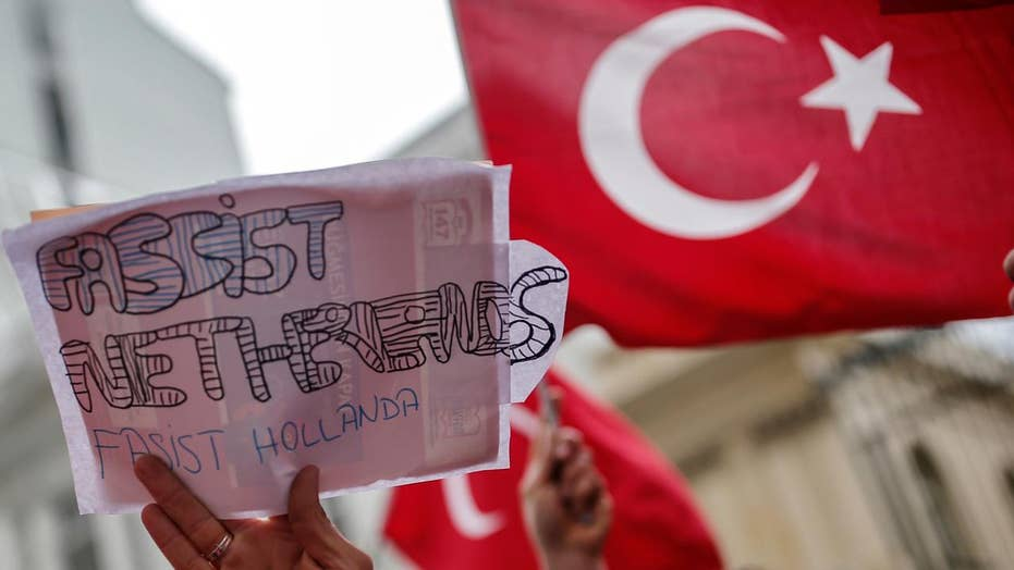 Tensions flare between Turkey and Netherlands