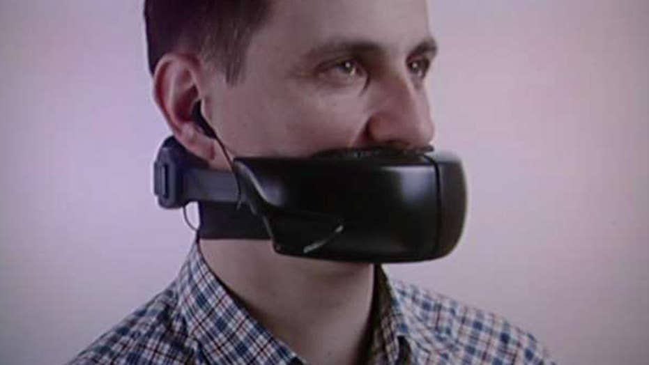 Need more phone privacy in public? Strap this to your face
