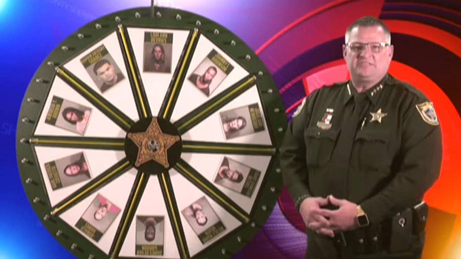 'Wheel of Fugitive' show leads to dozens of arrests