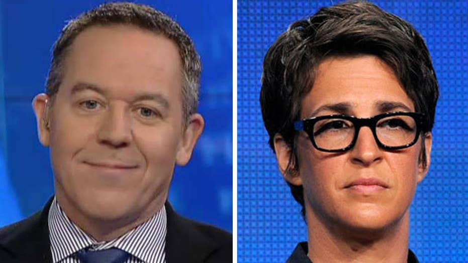 Gutfeld: Maddow falls for Trump's baited trap