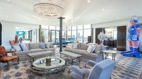 Hot Houses: Checkout a sky-high apartment previously owned by the rock star, Trump private island and Oscar-winner Casey Affleck's chic loft