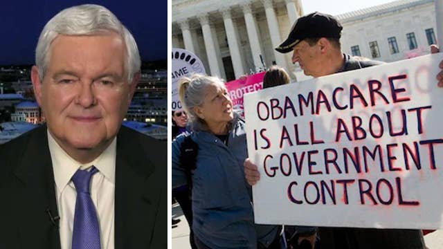 Newt Gingrich on GOP efforts to repeal ObamaCare