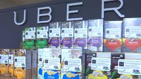 The Uber app has a one-day-only option for the 100th anniversary of Girl Scout cookie sales