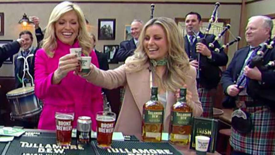 Tullamore D.E.W. Irish whiskey ambassador Jane Maher puts the anchors to the test