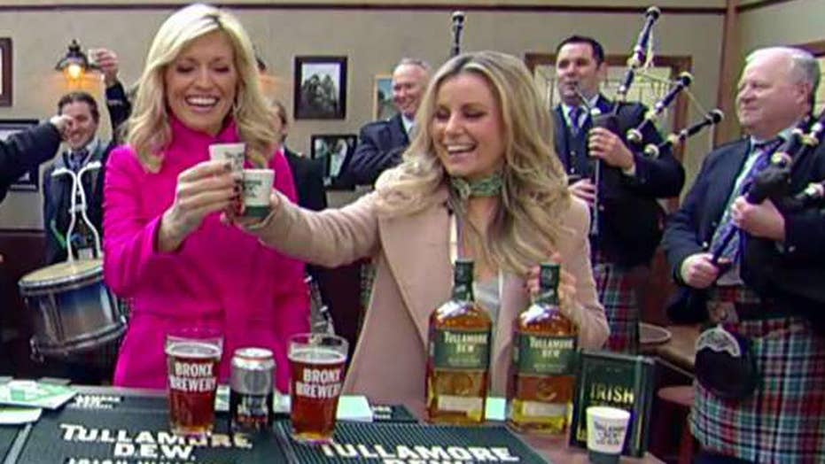 St. Patrick's Day trivia in the 'Fox & Friends' pub