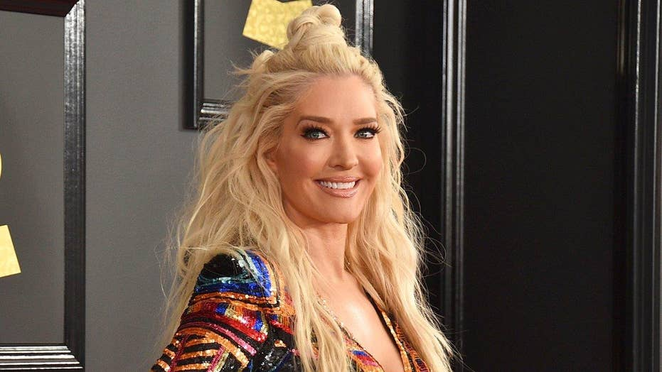 'Real Housewives' star Erika Jayne gets backlash for tweeting 'insensitive' GIF amid legal woes
