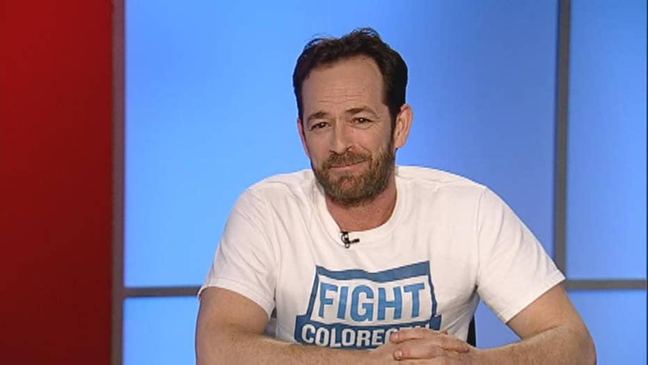 Actor Luke Perry opens up about colorectal cancer scare