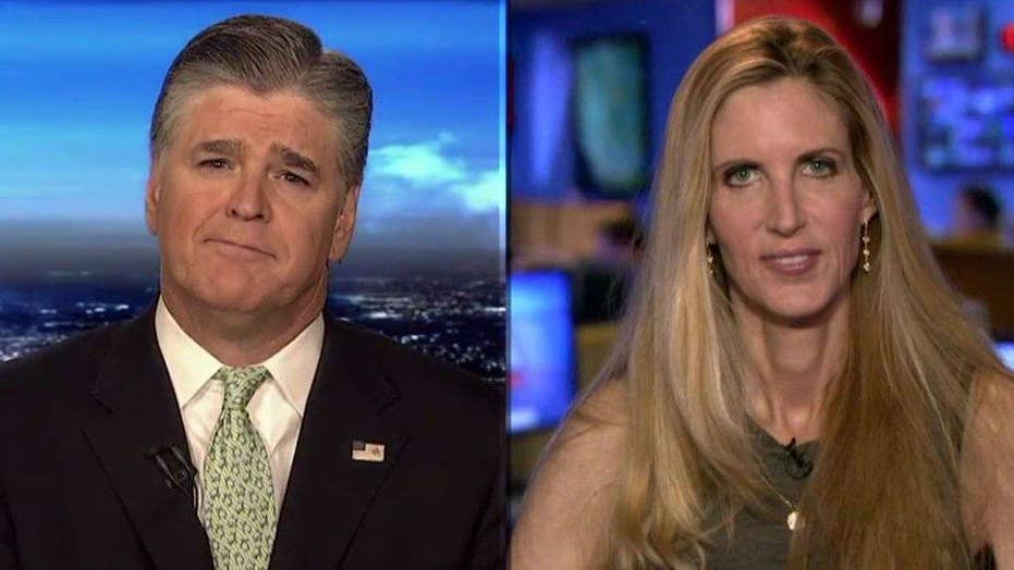 Ann Coulter speaks out against accepting refugees
