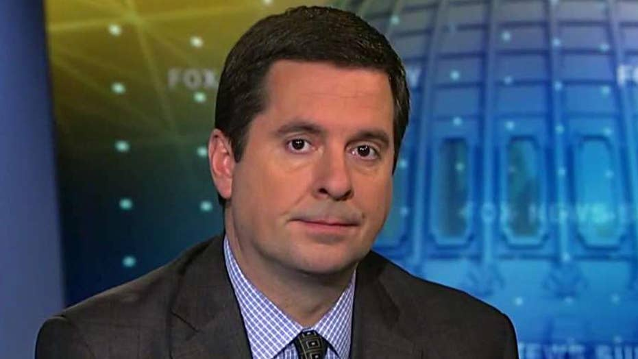 Rep. Nunes previews Comey appearance at House Intel hearing