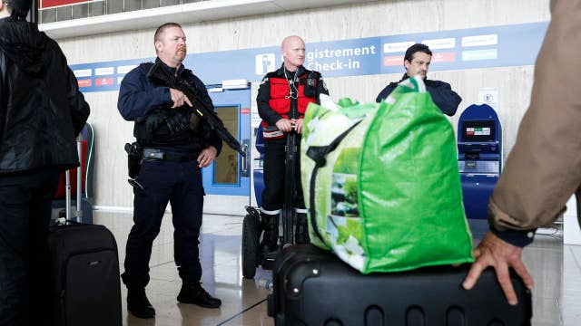 French guards fatally shot airport attacker