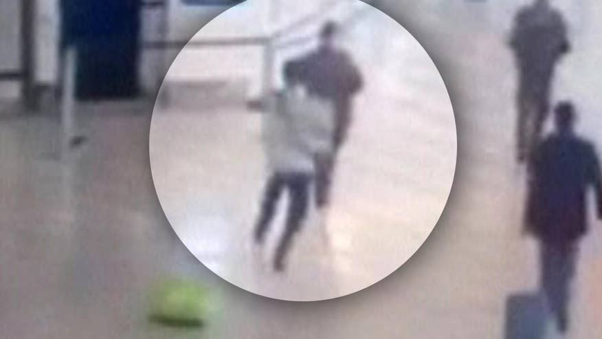 Raw video: Security footage from attack at Paris' Orly Airport released