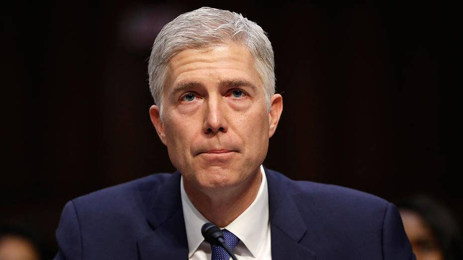 Gorsuch stresses need for 'neutral and independent judges'