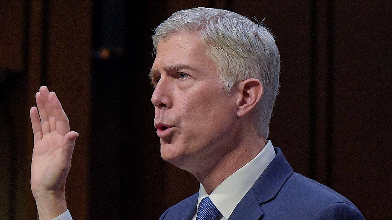 Gorsuch vows independence at confirmation hearing  says won     t be