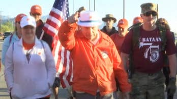 Bataan Death March memorialized with record-setting crowd