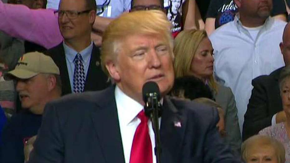 Trump: We're taking back power from the political class
