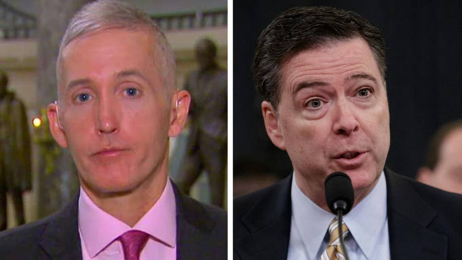 Gowdy troubled by Comey not confirming leaks investigation